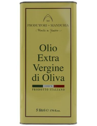 Lattine 5/lt. Olio Extra Vergine Di Oliva